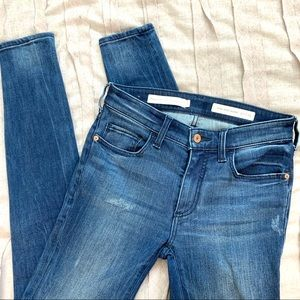 Pilcro & the Letterpress High Rise Skinny Jeans 25
